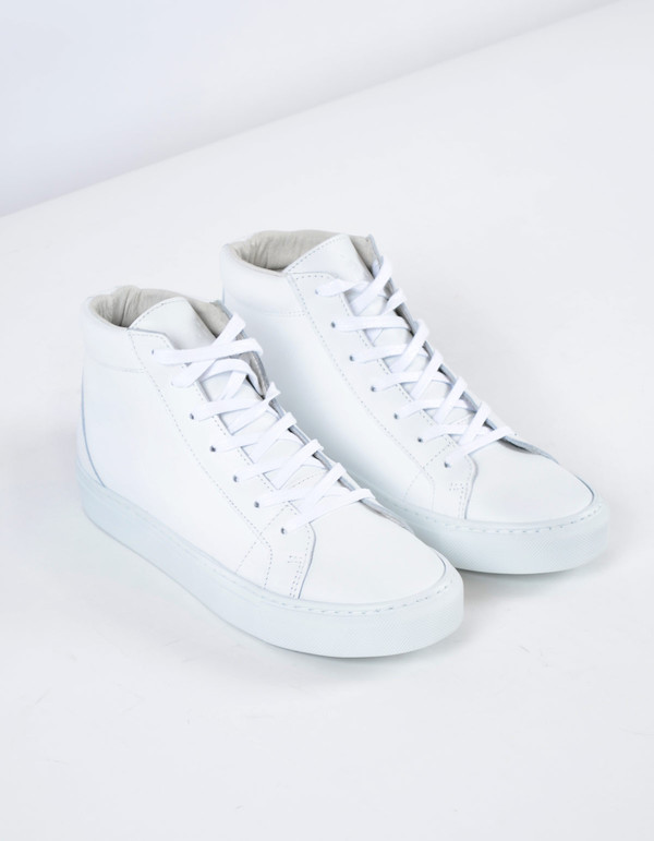 Garment Project Legend High Top Sneaker White