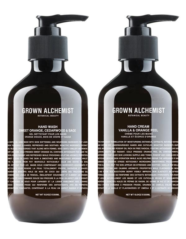 Grown Alchemist Hand Wash & Hand Cream Twin Set 300ml