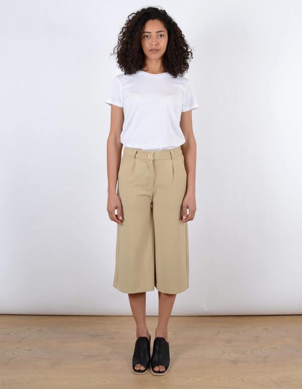 Just Female Dia Long Shorts Sand