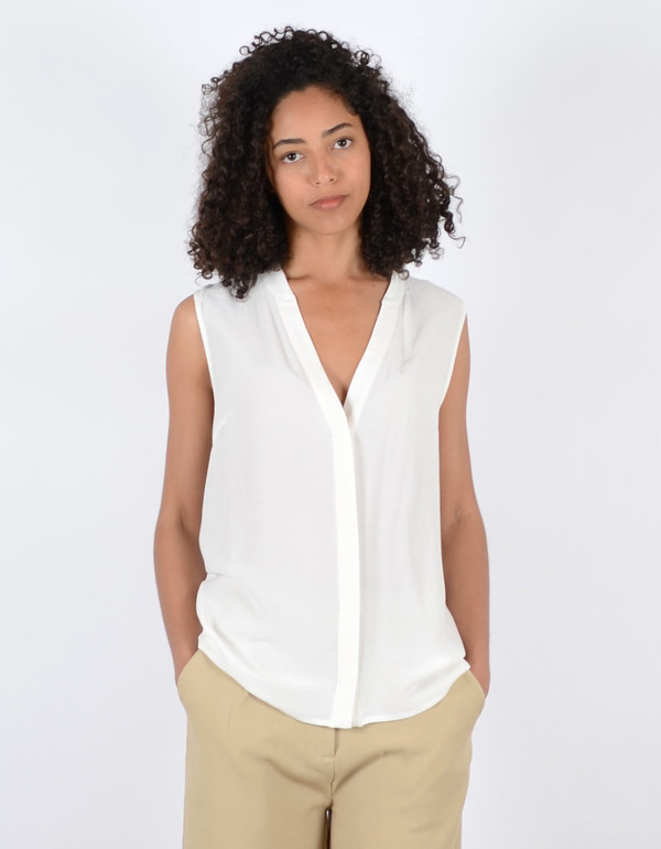 Just Female Trine SL Top White