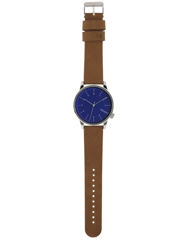 Komono Winston Watch Blue Cognac