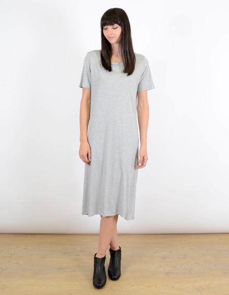 Kowtow Building Block T-Shirt Dress Grey Marle