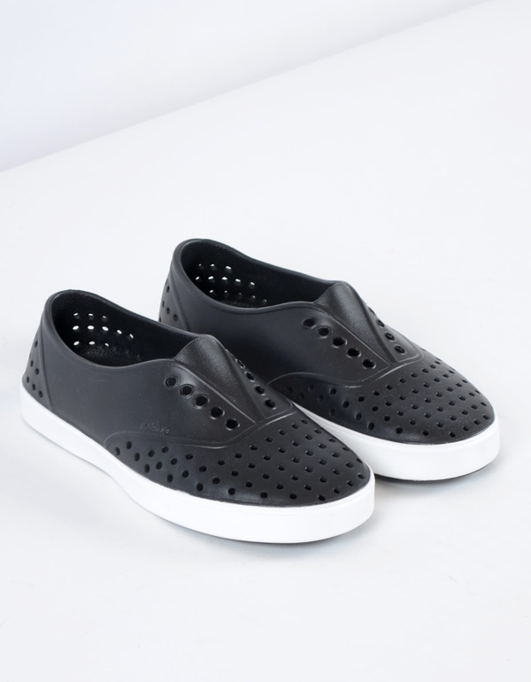 Native Shoes Native Miller Jiffy Black with Shell White