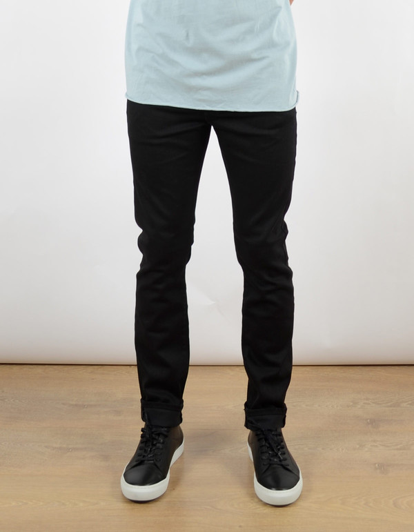 Men's Neuw Iggy Skinny Jean Raw Black