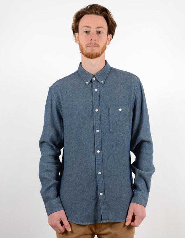 Men's No Nationality New Derek Shirt Blue