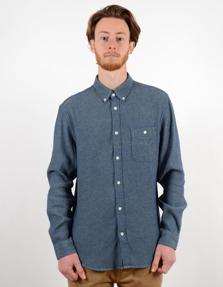 Men's No Nationality New Derek Shirt Blue