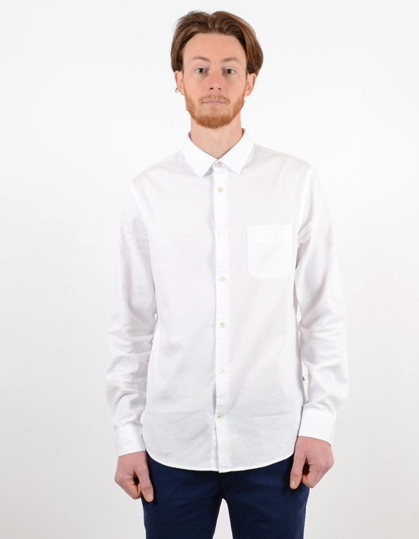 Men's No Nationality Sean Shirt White