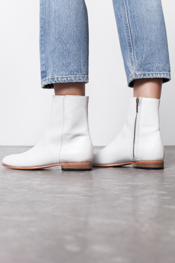 Dieppa Restrepo Rod Boot- white