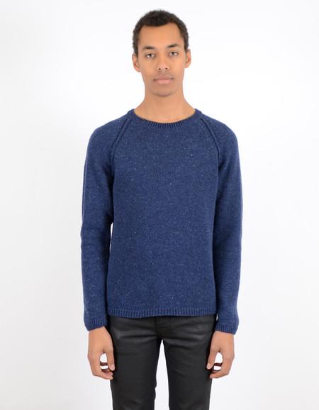 Men's Nudie Vladimir Neps Sweater Blue