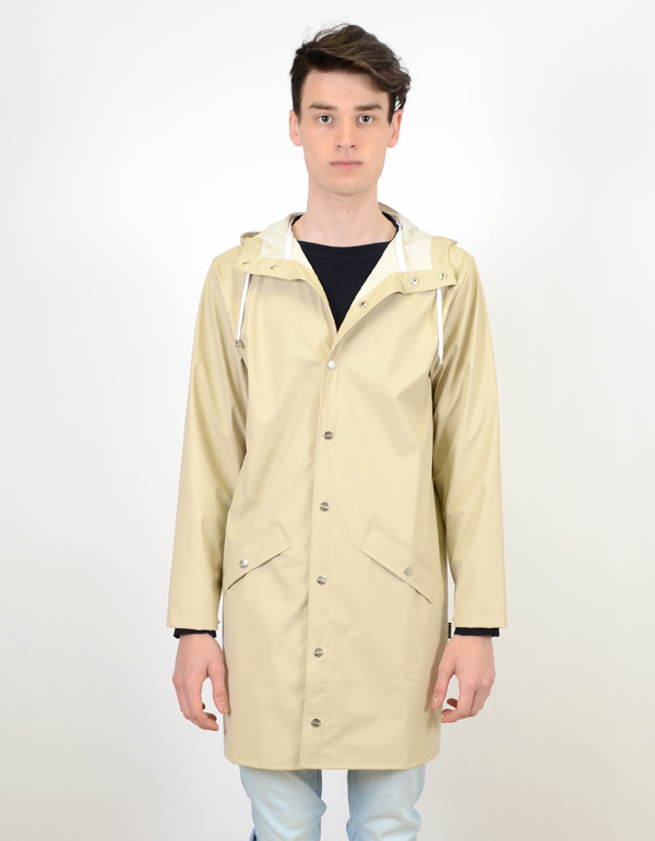 Men's Rains Long Jacket Sand