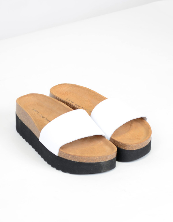 Shoe The Bear Aiko Sandal White