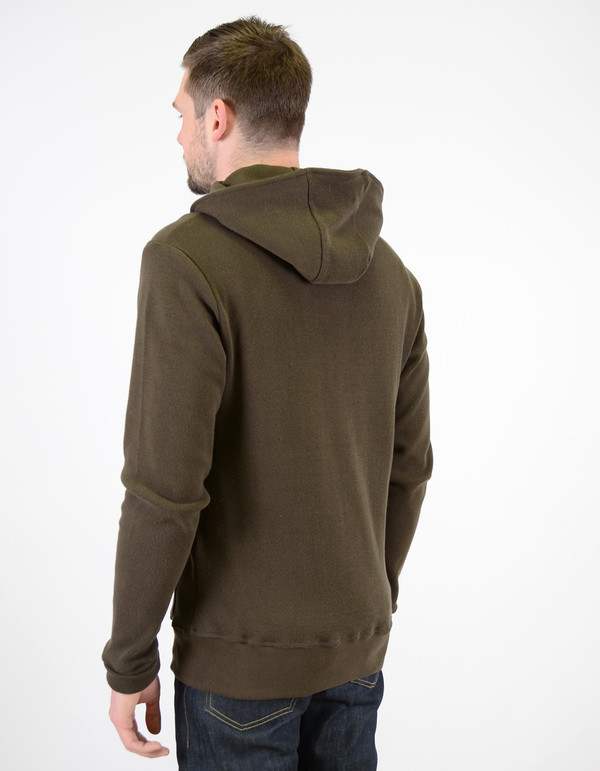 Men's Still Life CPH Zip Hoody Olive