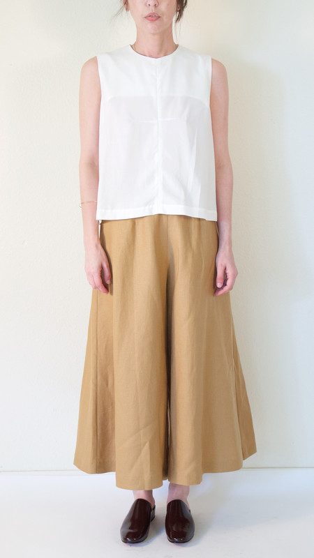 Wolcott : Takemoto Knavish Culotte in Tan