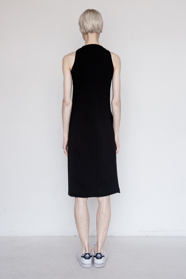 David Michael Modal Long Helix Dress