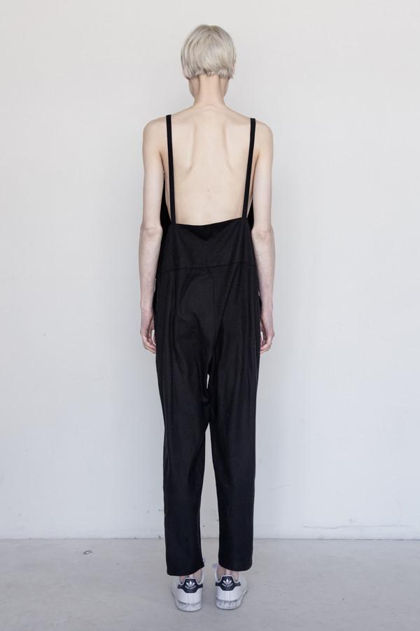Baserange Silk Long Strap Overall