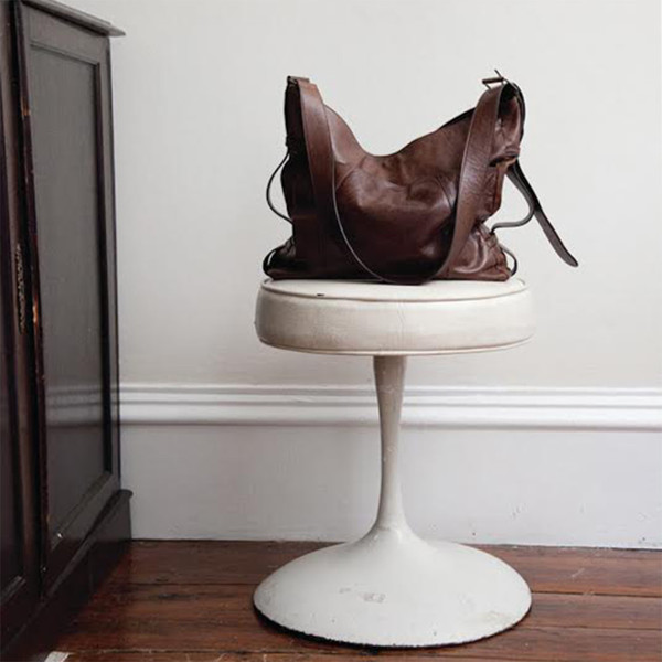 Erica Tanov leather buckle bag