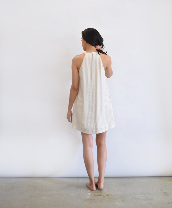Lush Linen Blend Dress