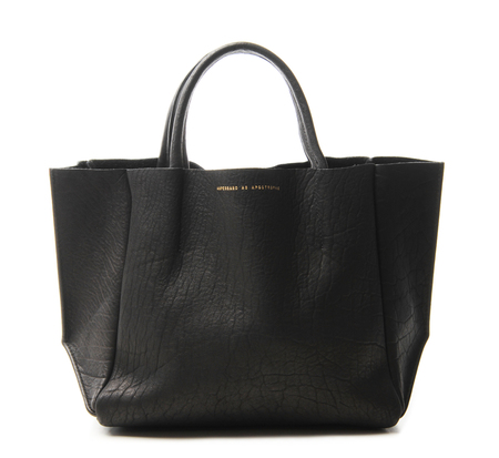 Black Buffalo Half Tote by Ampersand As Apostrophe