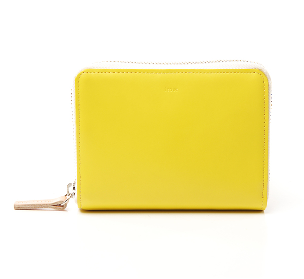 Yellow Pop Up Wallet by I Ro Se