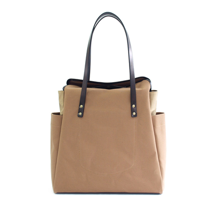 Southern Field Industries Desert and Black SF Shopper Tote