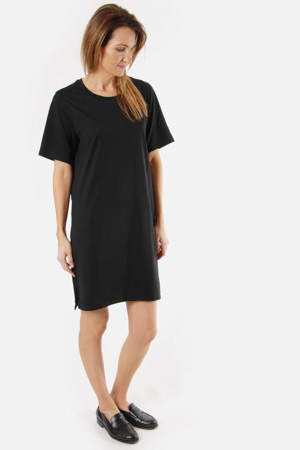 Handvaerk Black T Shirt Dress