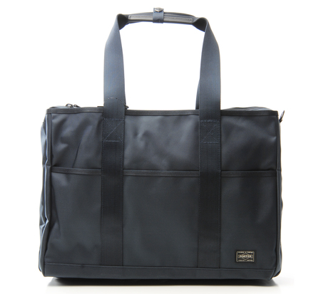 Porter 2 Way Navy Stage Tote