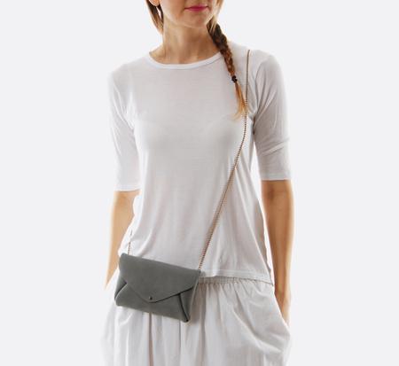 Grey Envelope Bag  by Petite Maison Christiane