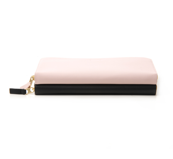 PB 0110 CM4 Rose and Black Wallet