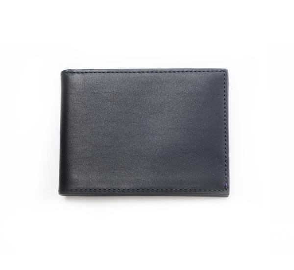 Hayden Leather Navy Denver Bifold Wallet