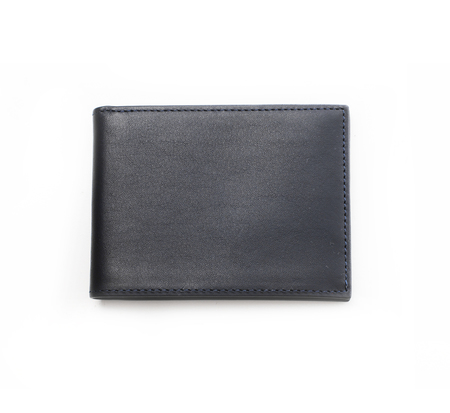 Hayden Leather Navy Denver Bifold Wallet