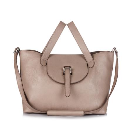 Meli Melo Taupe Medium Thela Bag and Clutch