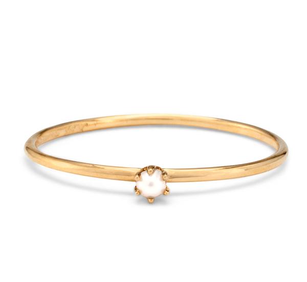 Satomi Kawakita R1601W 18K Pearl Ring