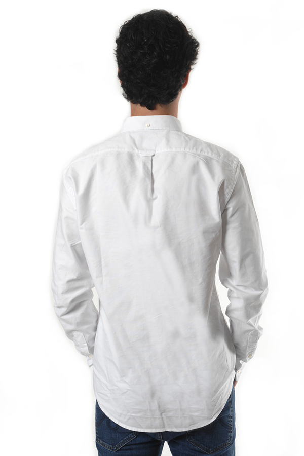 Men's Schnayderman's White Oxford One Shirt