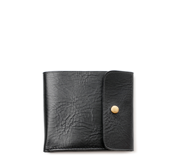 Small Black 09/6 Wallet  by Steve Mono
