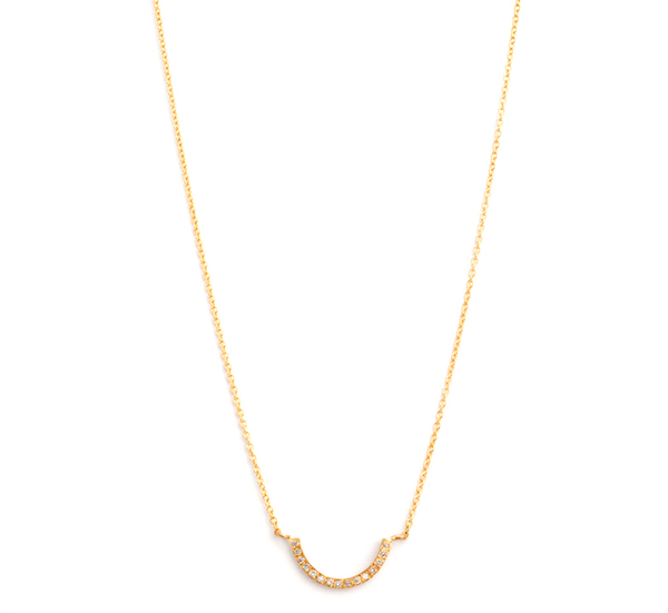 Satomi Kawakita N1212w 18K  Necklace With White Diamonds