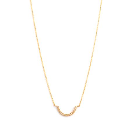 Satomi Kawakita N1212w 18K  Necklace With White Diamonds