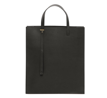 PB 0110 AB1 Black Tote Bag