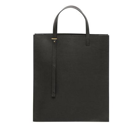 PB 0110 AB1 Black Tote Bag