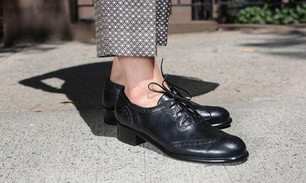 Black Karena Shoe by Le Yucca's