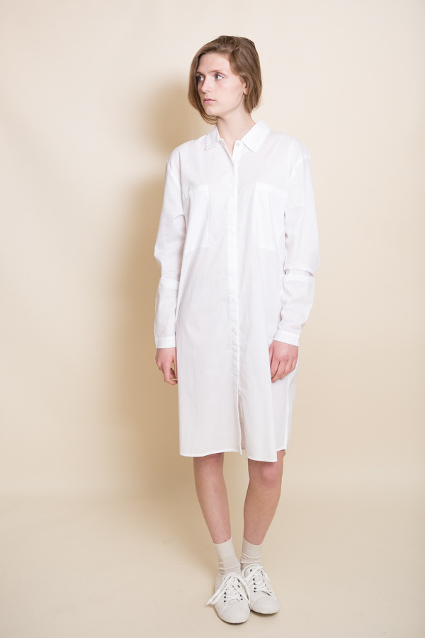 Kowtow Day After Day Dress / White