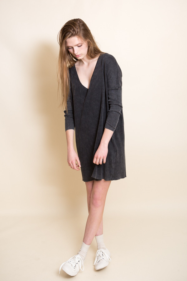 Callahan Enzyme Batwing Mini Dress