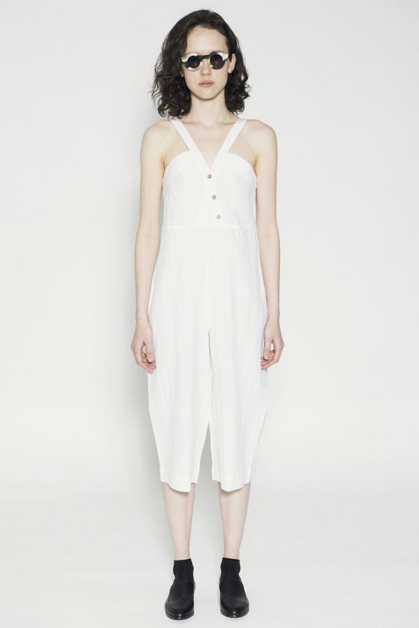 Wray Gamos Jumpsuit White
