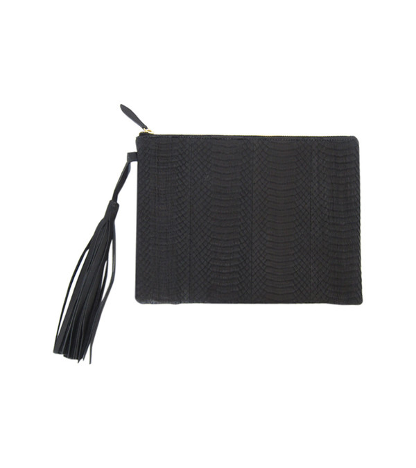 MAPA Collective The Whipsnake Tassel Clutch