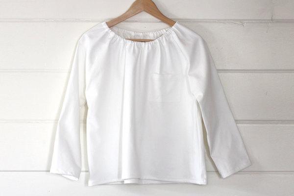 pietsie Marais Shirt in White Canvas