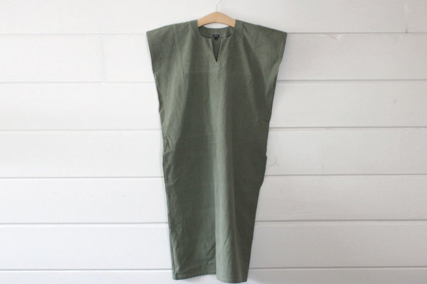 pietsie Sayulita Dress in Vintage Army