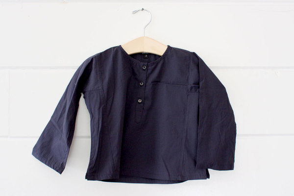 pietsie Basque Shirt in Navy