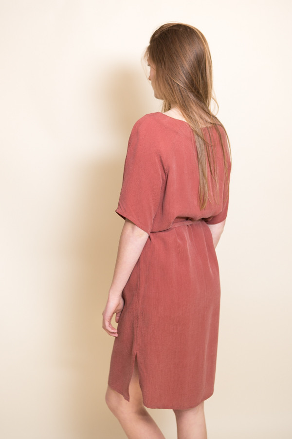Just Female Orion Dress / Marsala Red