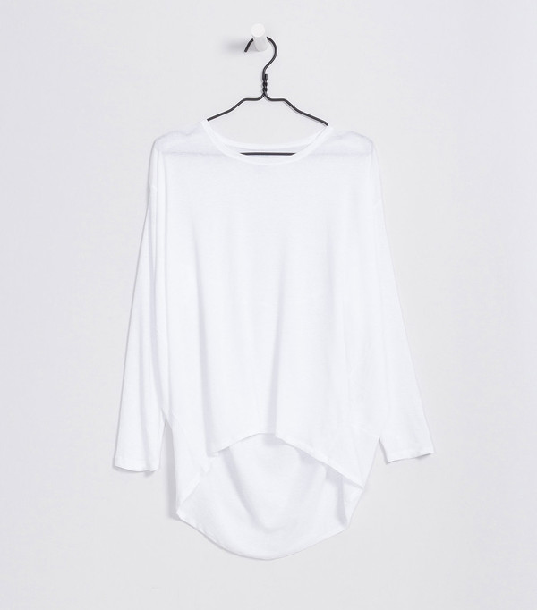 Kowtow Drape Back Top
