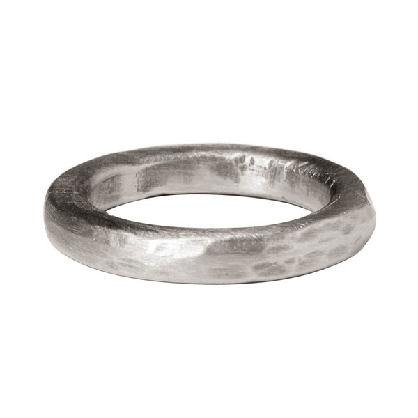 Tiffany Kunz Bold Silver Stack Ring