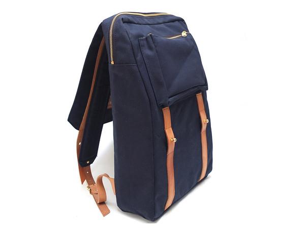 Woolfell Warrior Backpack Marine and Tan